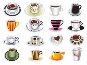 Coffee Cup Vector Set